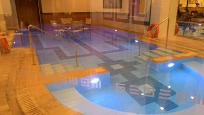 Holiday Inn Athens airport - Underground pool
