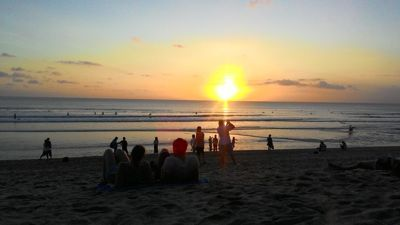 Kuta beach - Sunset on Kuta Beach