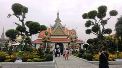 Bangkok, dynamic Thai capital - Wat aroun hram