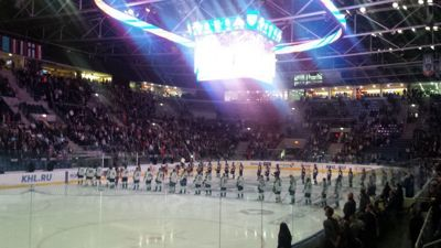 Ice hockey match in Zimny Stadion - Ice hockey match