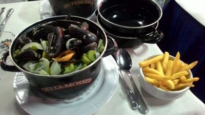 Rugbyman n°Two - Mussels and fries