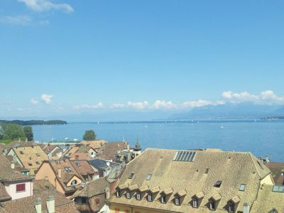 Day trip to Nyon - Lake and Alps view