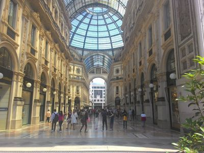 Milan, fashion capital of Italy - Galleria Vittorio Emanuele II