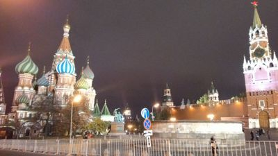 Travel review Moscow, Russian Federation