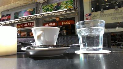 D\'avilla cafe - Coffee and water