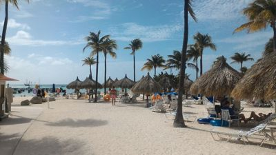 Aruba Marriott resort - Beach view