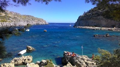 Anthony Quinn Bay - View on the bay