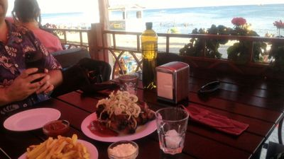 Cafe Arina - Barbecue with sea view