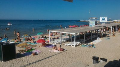 Sunny coast iron port, iron port beach - Black sea, beach and beach club
