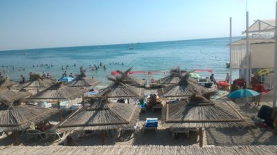 Jamaica beach club iron port - Palapa and black sea