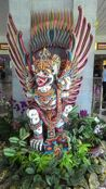 Bali, Indonesian island - Local art at Denpasar airport